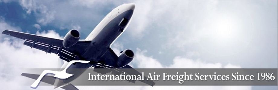 International Air Freight Services since 1986.